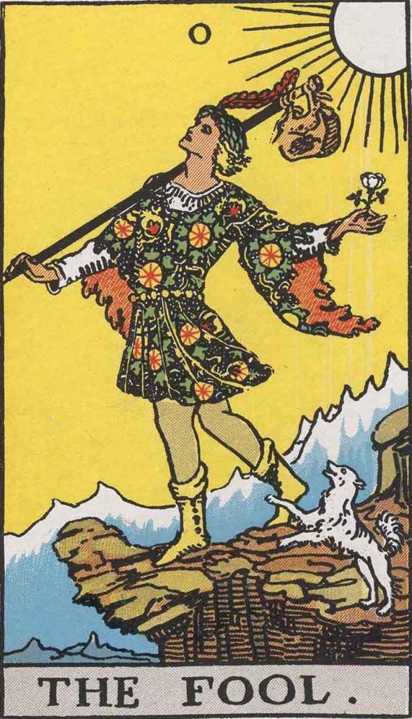 0 - The Fool - Major Arcana