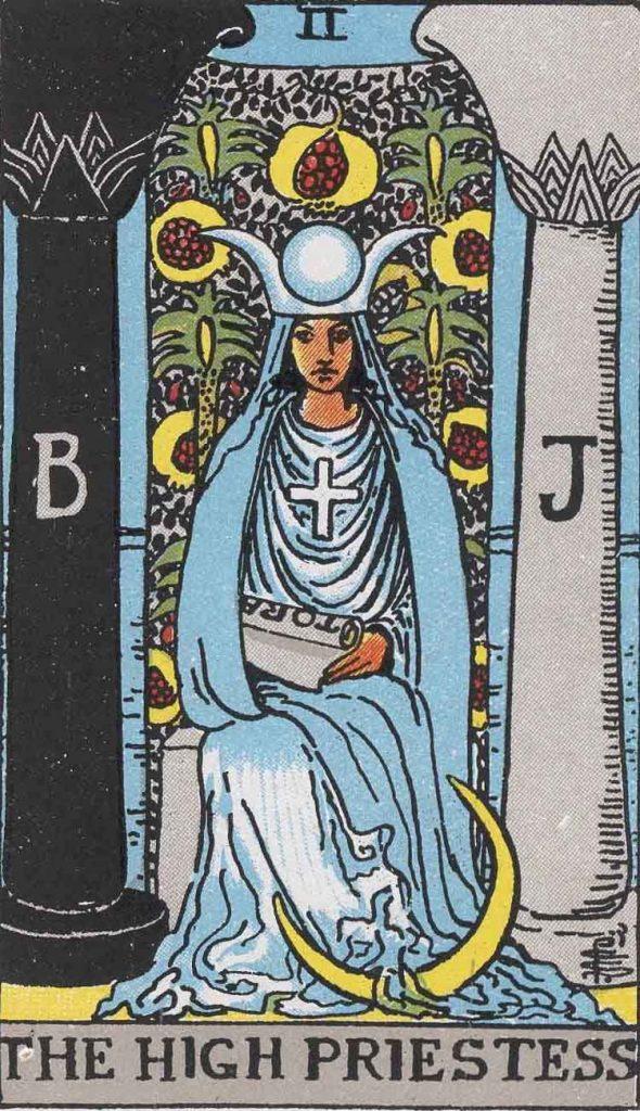 II - High Priestess - Major Arcana