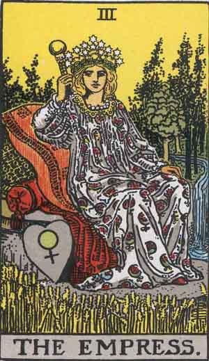 III - The Empress - Major Arcana