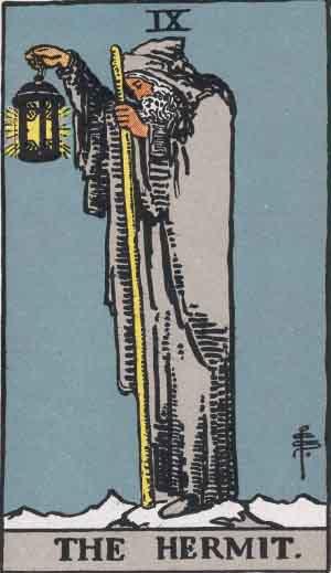 IX - The Hermit - Major Arcana