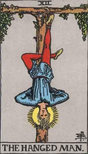 XII - The Hanged Man - Major Arcana