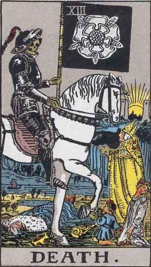 XIII - Death - Major Arcana