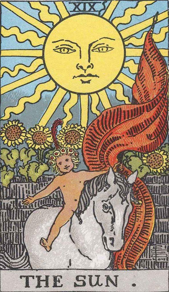 XIX - The Sun - Major Arcana