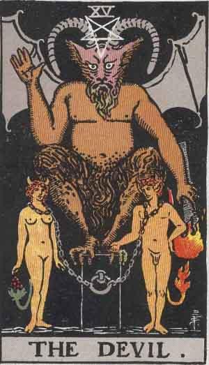 XV - The Devil - Major Arcana