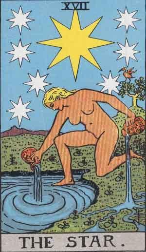 XVII - The Star - Major Arcana