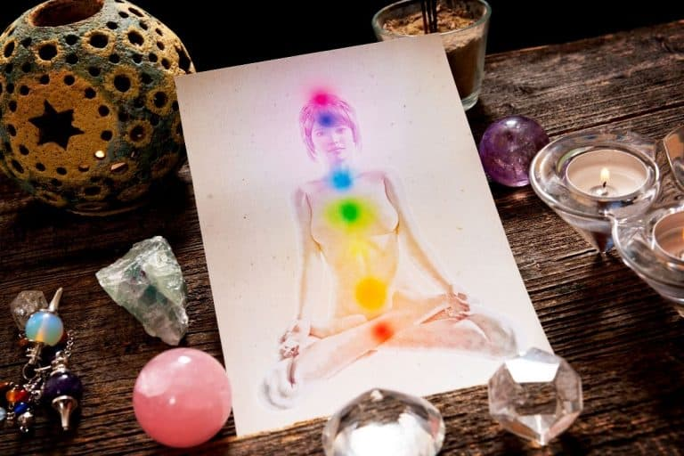 how to move energy up the chakras