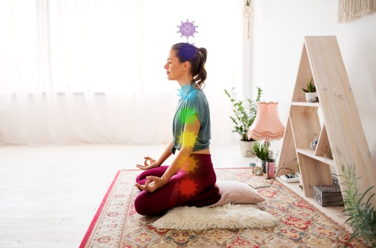rainbow meditation technique