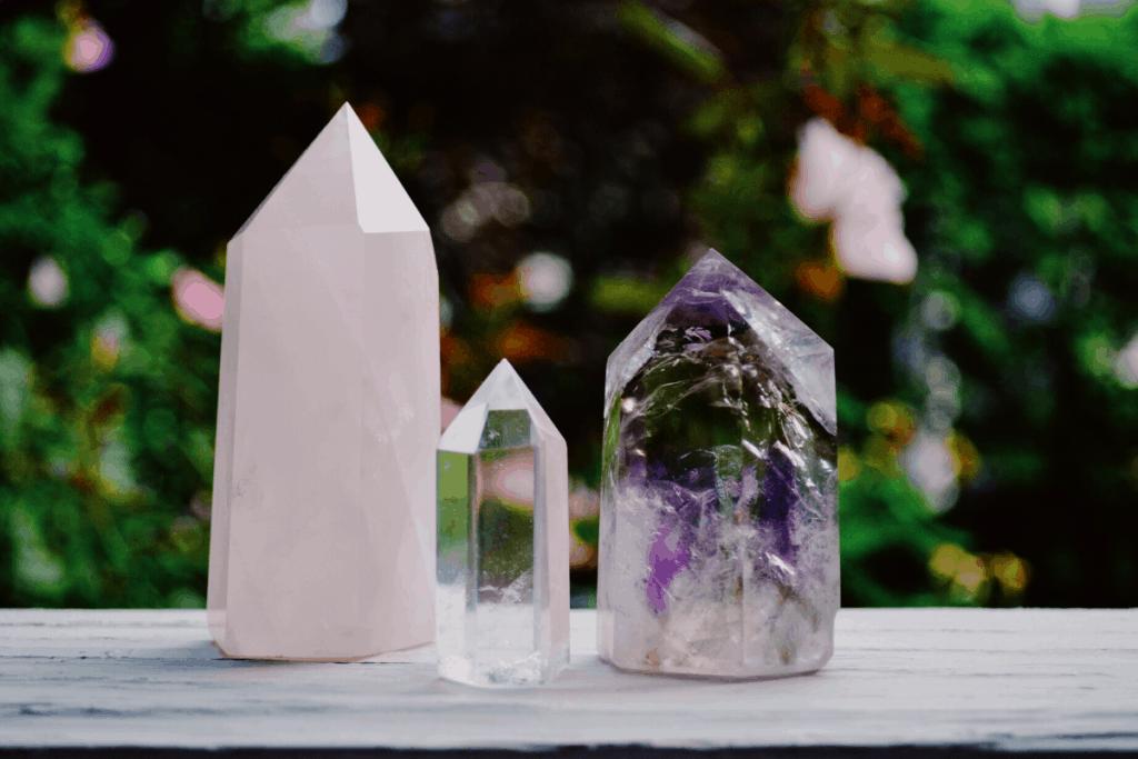 3 crystals