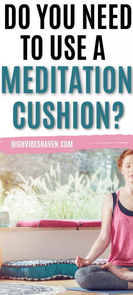 Do You Need to Use a Meditation Cushion When You Meditate? #meditationtips