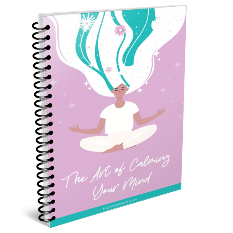calm mind planner bound cover