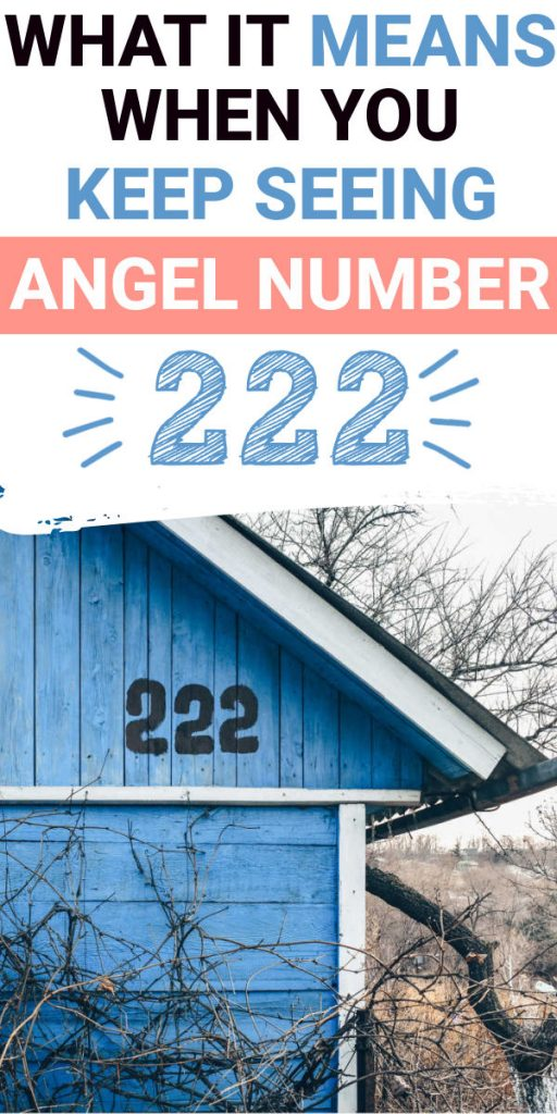 What It Means When You Keep Seeing Angel Number 222