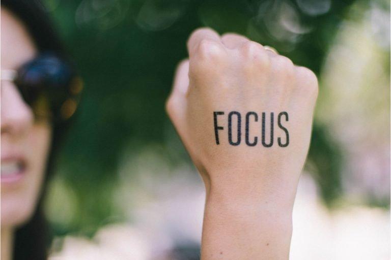 inspirational words list focus