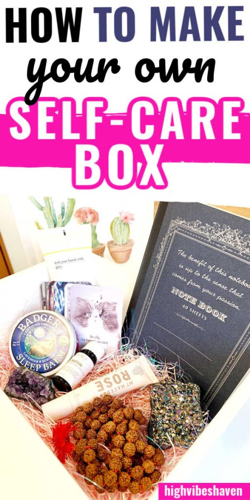How to Make Your Own DIY Self Care Box