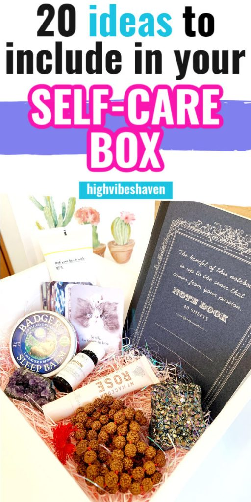 20 Self Care Box Ideas for Your DIY Self Care Kit