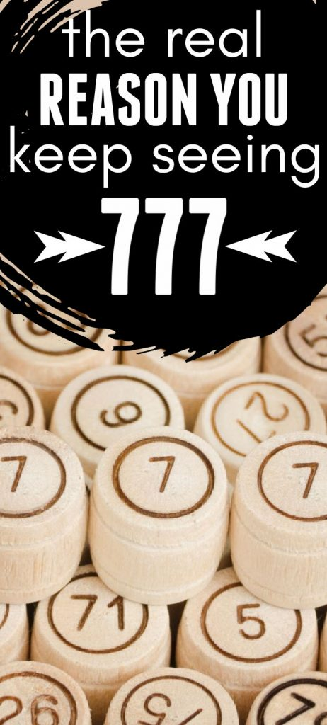 Keep Seeing 777? Click through for the reasons why you keep seeing this angel number and what it really means.
