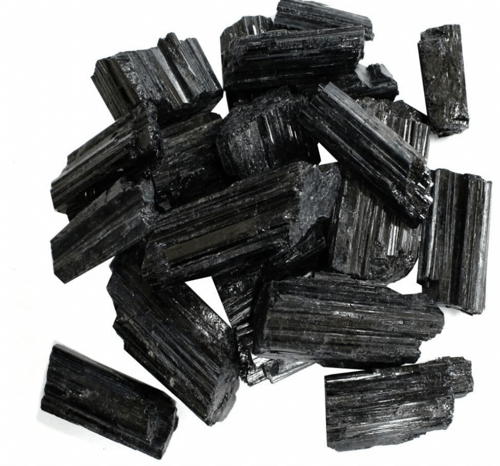black tourmaline root chakra stones