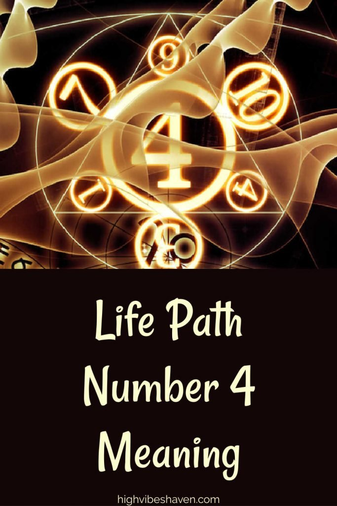 Life Path Number 4 Meaning Numerology