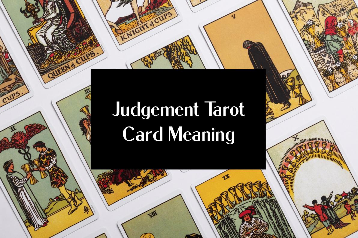 judgement tarot card meaning