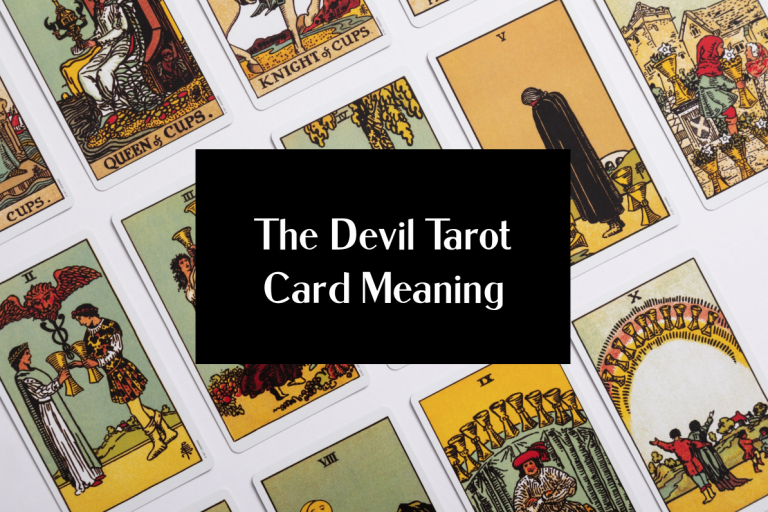 the devil tarot card meaning