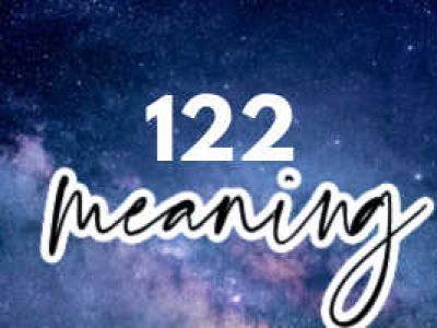 122 Angel Number Meaning + Symbolism