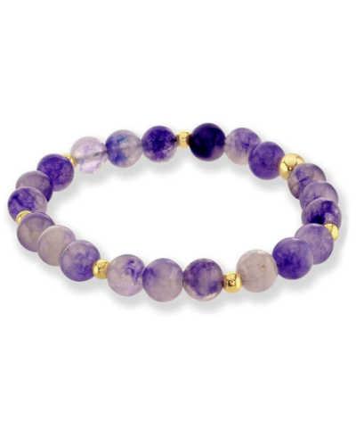 amethyst chakra healing bracelet