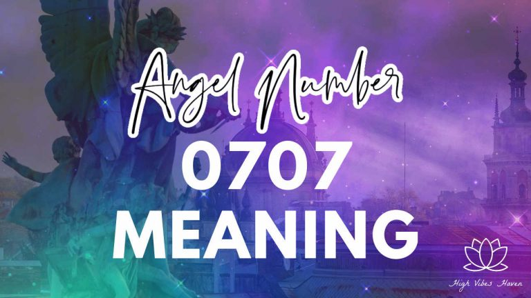 angel number 0707 meaning