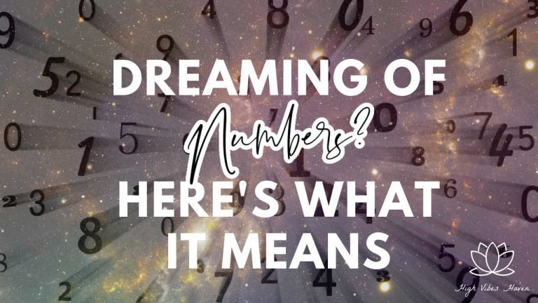 dreaming of numbers here's what it means